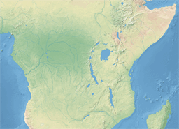 Vector map of Somalia