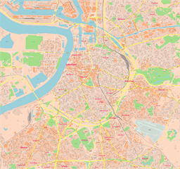 ScalableMaps Vector maps of Antwerp for Illustrator