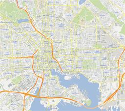 Baltimore Maps And Orientation Baltimore Maryland MD USA Usa