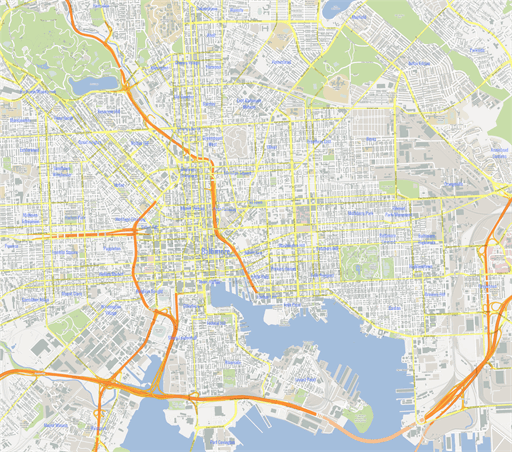 ScalableMaps Vector Maps Of Baltimore PDF AI