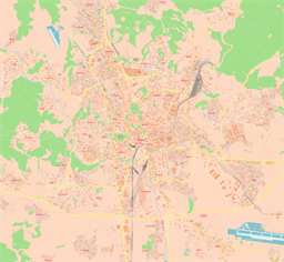 ScalableMaps Vector maps of Brno for Illustrator