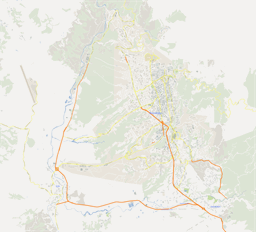 Vector map of Bucaramanga, Colombia