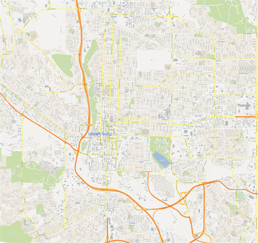Scalablemaps Vector Maps Of Denver Pdf Ai: ScalableMaps: Vector Maps Of Colorado Springs (PDF, AI