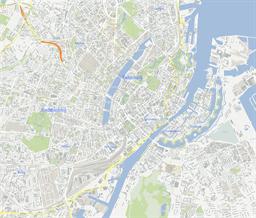 ScalableMaps Vector maps of Copenhagen for Illustrator