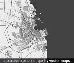 ScalableMaps: vector maps of Qatar on italy map area, algeria map area, cape verde map area, jamaica map area, bangladesh map area, kuwait map area, lebanon map area, puerto rico map area, palestine map area, egypt map area, rwanda map area, syria map area, middle east map area, iceland map area, haiti map area, japan map area, albania map area, asia map area, cayman islands map area, saudi arabia map area,