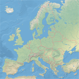 Vector map of Europe