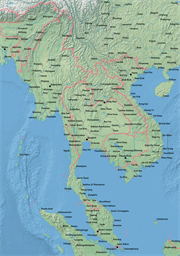 Vector map of Vietnam