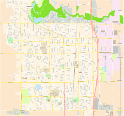 Vector map of Lodi, USA