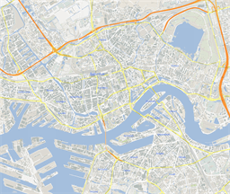 ScalableMaps: Vector maps of Rotterdam for Illustrator