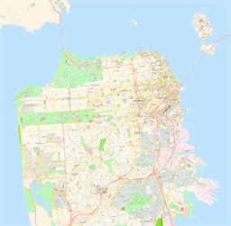 ScalableMaps: Vector maps of San Francisco for Illustrator