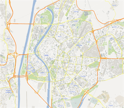 ScalableMaps Vector maps of Seville for Illustrator