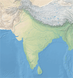 Vector map of Nepal