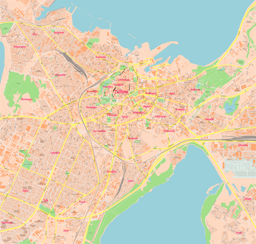 Scalablemaps Vector Maps Of Denver Pdf Ai: ScalableMaps: Vector Maps Of Tallinn (PDF, AI