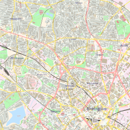 Map Of Uk Birmingham.Scalablemaps Vector Map Of Birmingham Colorful City Map Theme