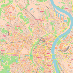ScalableMaps: Vector map of Cologne (center) (classicity city map theme)