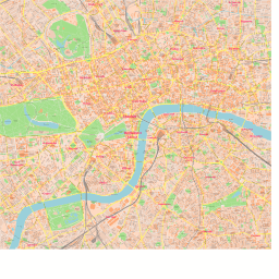 London City Map Pdf.Scalablemaps Vector Map Of London Center Classicity City Map Theme