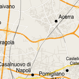 ScalableMaps: Vector map of Naples (gmap regional map theme)
