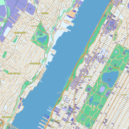 Scalablemaps Vector Map Of New York Manhattan Modern City Map Theme