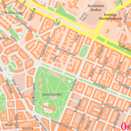 ScalableMaps Vector map of Stockholm center classicity city map