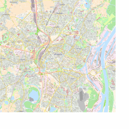 Scalablemaps Vector Map Of Strasbourg Colorful City Map Theme
