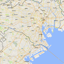 Scalablemaps Vector Map Of Tokyo Gmap Regional Map Theme