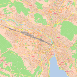 Vector map of Zurich (clicity theme) in AI and PDF formats on switzerland on europe map, zurich germany on map, zurich city map,